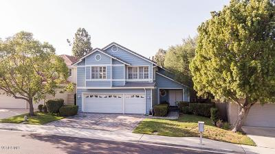 Moorpark Single Family Home Active Under Contract: 4097 Pine Hollow Place