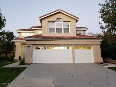 Moorpark Single Family Home For Sale: 15491 Borges Drive
