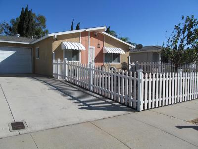 Simi Valley Single Family Home For Sale: 1540 Moreno Drive