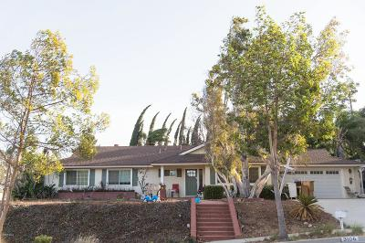 Thousand Oaks Single Family Home For Sale: 3106 Camino Del Zuro