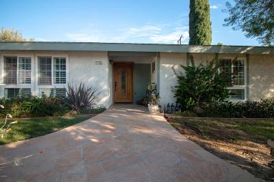 Thousand Oaks Single Family Home For Sale: 1176 Whitecliff Road