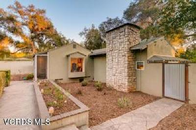 Ojai Single Family Home For Sale: 840 Fairview Road
