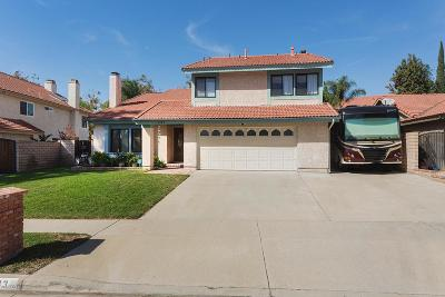 Simi Valley Single Family Home For Sale: 3133 Penney Drive