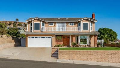 Ventura Single Family Home For Sale: 714 Skyline Road