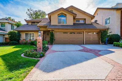 Agoura Hills Single Family Home Sold: 29150 Oakpath Drive