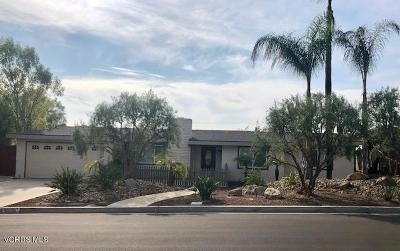 Thousand Oaks Single Family Home For Sale: 1376 Calle Pimiento