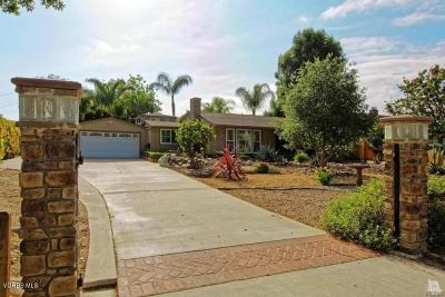 Moorpark Single Family Home For Sale: 4809 Maureen Lane