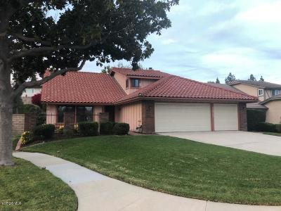 Simi Valley Single Family Home For Sale: 2975 Meadowstone Drive