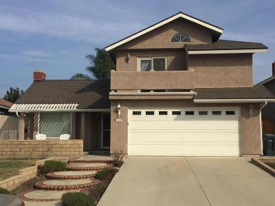Ventura Single Family Home For Sale: 730 Westfield Court