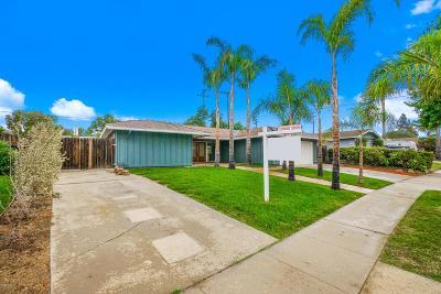 Camarillo Single Family Home For Sale: 1191 Beechwood Street