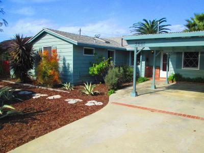 Ventura Single Family Home For Sale: 3965 Maple Street