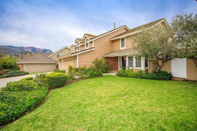 Newbury Park Single Family Home For Sale: 923 Deerspring Place