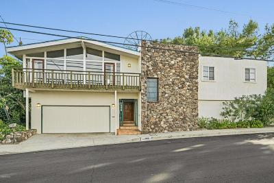 Encino Single Family Home For Sale: 17004 Oak View Drive