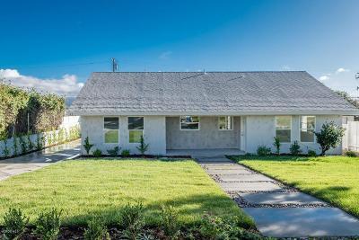 Camarillo Single Family Home For Sale: 63 Lemon Drive