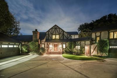Agoura Hills Single Family Home For Sale: 6211 Fairview Place