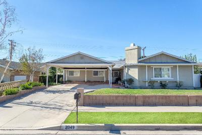 Simi Valley Single Family Home For Sale: 2049 Rockdale Avenue