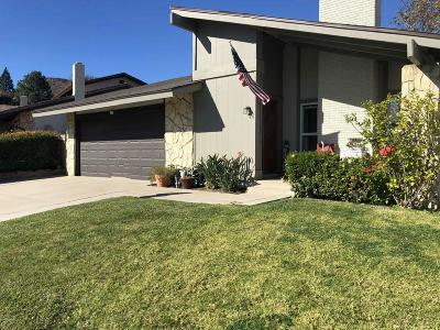 Newbury Park Single Family Home For Sale: 3859 San Clemente Court