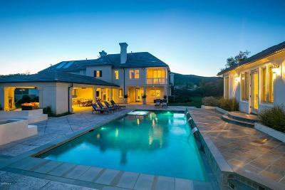 Westlake Village Single Family Home Sold: 1480 Cheviot Hills Court