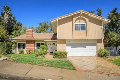Westlake Village Single Family Home For Sale: 2261 Hillsbury Road