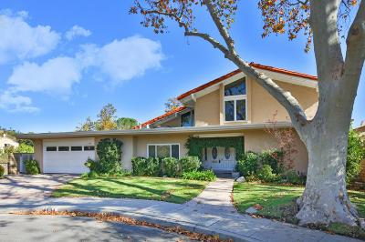 Westlake Village Single Family Home Sold: 1604 Camberwell Place
