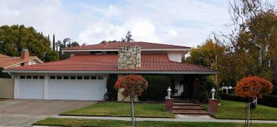 Westlake Village Single Family Home Sold: 1134 Galesmoore Court