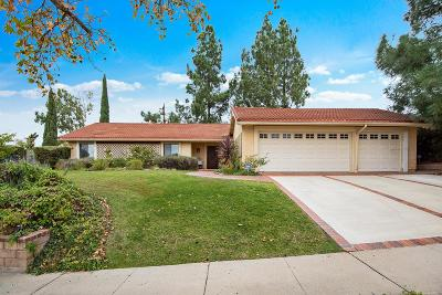 Thousand Oaks Single Family Home For Sale: 129 Venus Street