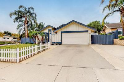 Camarillo Single Family Home For Sale: 1755 Clearwater Drive