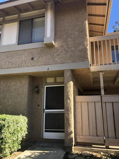 Simi Valley Condo/Townhouse Active Under Contract: 4466 Lubbock Drive #A