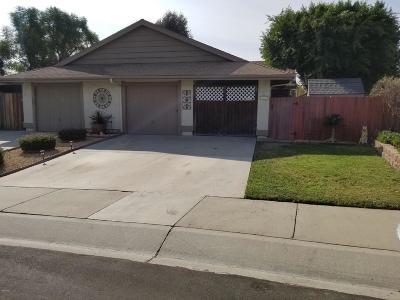 Camarillo Single Family Home For Sale: 567 Hillcrest Drive