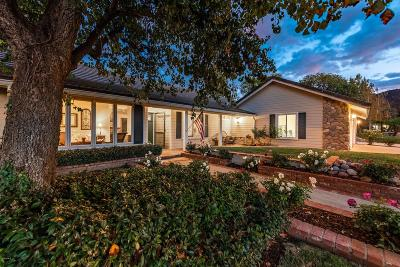 Simi Valley Single Family Home For Sale: 400 Longbranch Road