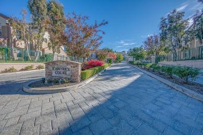 Simi Valley Condo/Townhouse For Sale: 657 Cardinal Ridge Lane #C