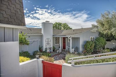 Ventura Single Family Home For Sale: 2150 Hillcrest Drive