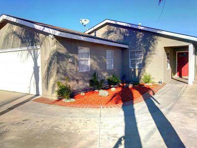 Fillmore Single Family Home For Sale: 825 4th Street