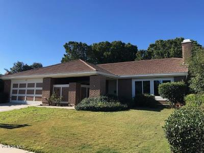Camarillo Single Family Home For Sale: 809 Rowland Avenue