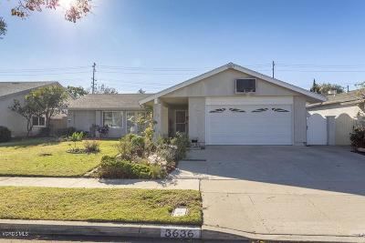 Simi Valley Single Family Home For Sale: 3636 Woodhaven Street