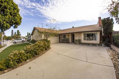 Ventura Single Family Home For Sale: 6530 Stork Street