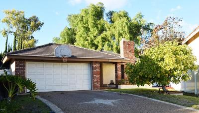 Thousand Oaks Single Family Home For Sale: 2847 Cedar Wood Place