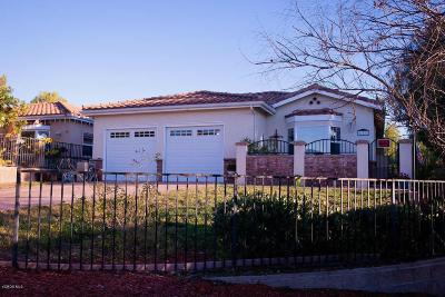 Thousand Oaks Single Family Home For Sale: 880 Benson Way