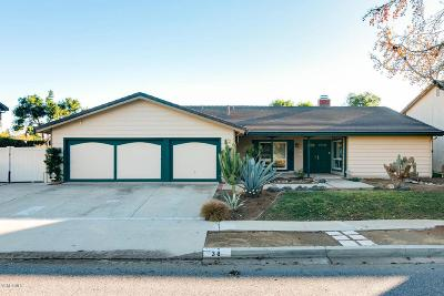 Thousand Oaks Single Family Home For Sale: 38 Magellan Street
