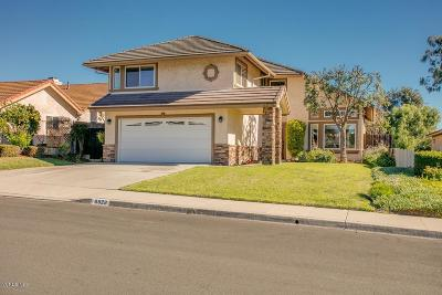 Camarillo Single Family Home For Sale: 6028 Fremont Circle