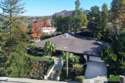 Westlake Village Single Family Home For Sale: 3672 Twin Lake Ridge