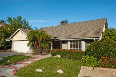 Thousand Oaks Single Family Home For Sale: 2854 Parkview Drive