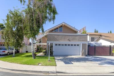 Simi Valley Single Family Home For Sale: 3862 Lucas Court