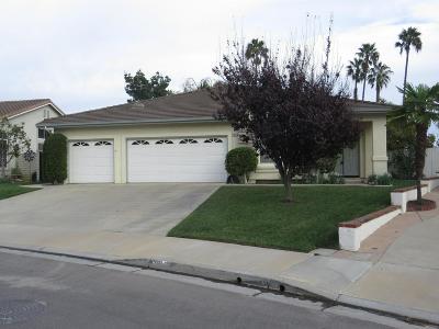 Camarillo Single Family Home For Sale: 1968 Baja Vista Way
