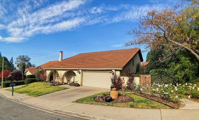Thousand Oaks Single Family Home For Sale: 103 Los Padres Drive