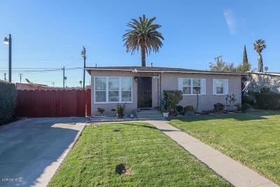 Oxnard Single Family Home For Sale: 5011 Refsing Place