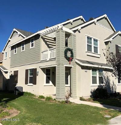 Oxnard Condo/Townhouse For Sale: 3021 Thames River Drive