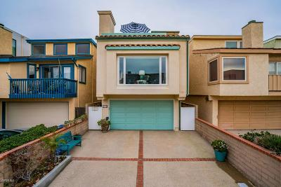 Oxnard Single Family Home For Sale: 3914 Ocean Drive