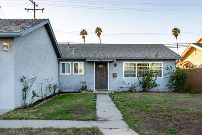 Oxnard Single Family Home For Sale: 3611 La Costa Place