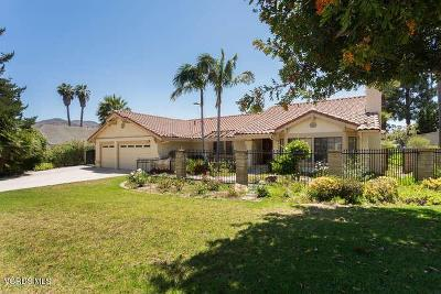 Camarillo Single Family Home For Sale: 1891 Via Montecito